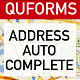 QuForms Address Autocomplete