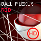 Ball Plexus Red