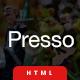Presso | The Multi-Purpose HTML5 Template
