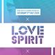 Love Spirit | Minimalist Sexy Flyer PSD Template