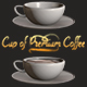Element 3D - Cup of Premium Coffee by cinema4d-man