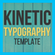 Download Kinetic Typography from VideHive