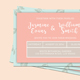 Wedding Ticket Invitation + RSVP