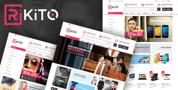 Image of Vina Rikito - Responsive VirtueMart Joomla Template