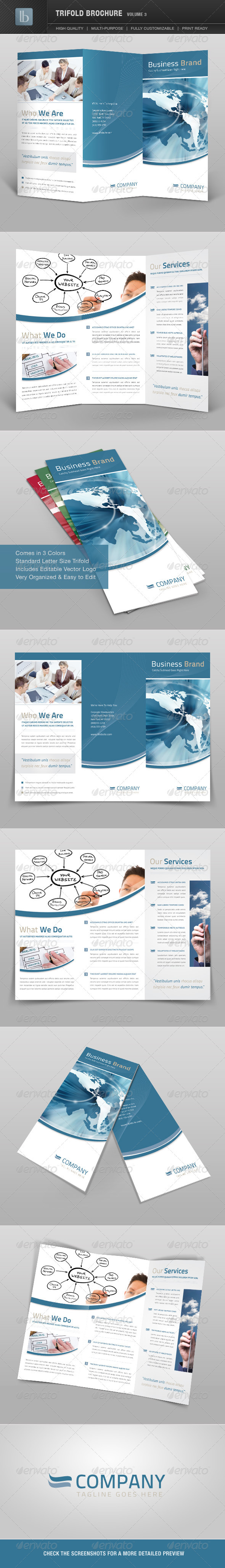 Trifold Brochure | Volume 3 - Corporate Brochures