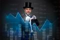 Magician magic applies to finances
