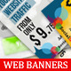 Sociallita Web Banners Collection - GraphicRiver Item for Sale