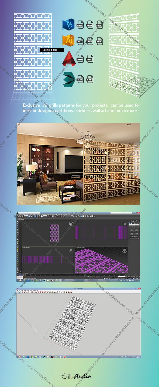 3DOcean libra 3D screen PD G07 17491743