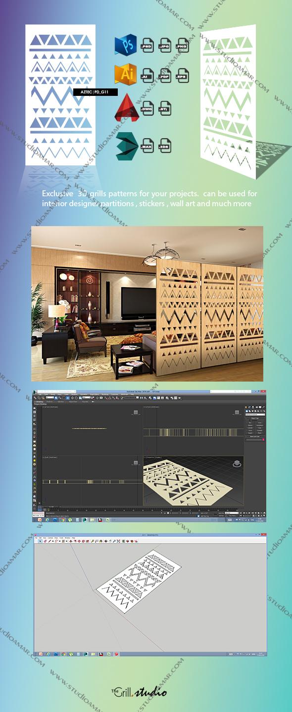Aztec (3D screen) PD_G11 - 3DOcean Item for Sale