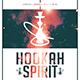 Hookah Spirit | Dope Style Chill Minimal Flyer PSD Template