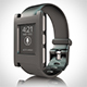 Smart watch pebble 3d black