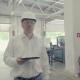 Engineer Walking Through Manufacturing Plant
