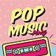 Pop Music Flyer