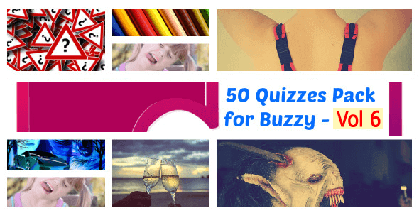 50 Quizzes Pack for Buzzy - Vol 6