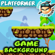 Platformer Game Background 16