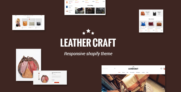 Download Leather - Responsive Fashion Shopify Theme nulled download