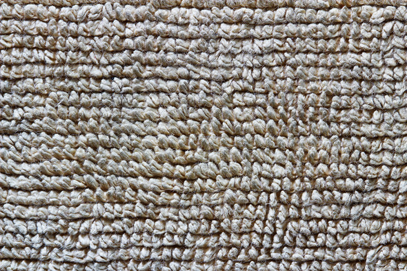 Detailed brown towel texture - Stock Photo - Images