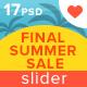 Final Summer Sale Slider