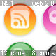 Glossy Web 2.0 Menu Icons – Set 1 - ActiveDen Item for Sale