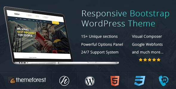 Finance Business WordPress Theme - The Company