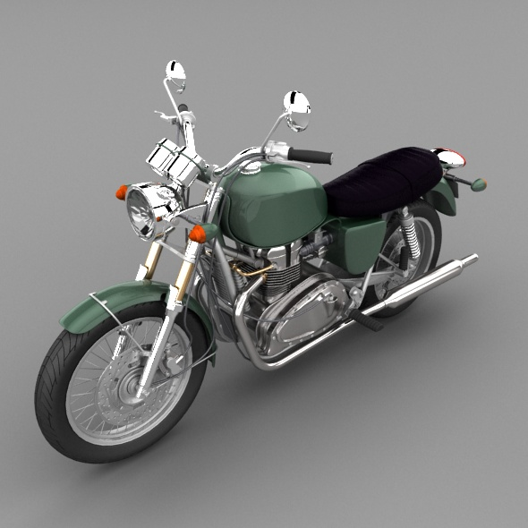 Generic motorbike - 3DOcean Item for Sale