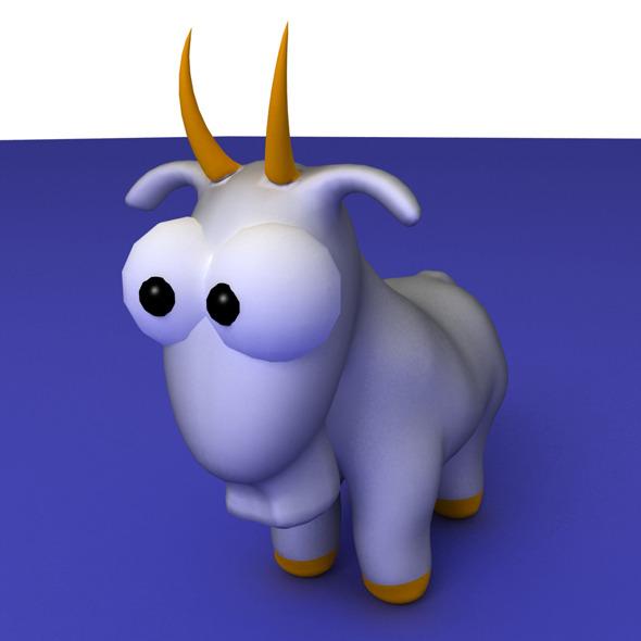 3DOcean Zodiac Capricorn Cartoon 1741068