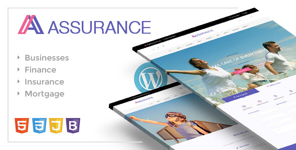 Assurance - Insurance & Finance WordPress Responsive Theme