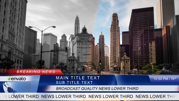 Download News Lower Third nulled download
