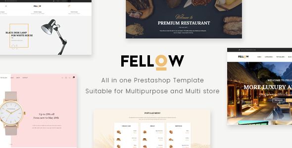 Image of Leo Fellow Responsive Prestashop Theme