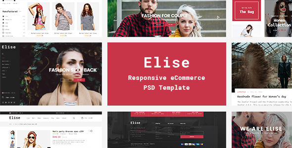 Elise - A Genuinely Multi-Concept Ecommerce Theme