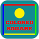 Colored Square - HTML5 Game