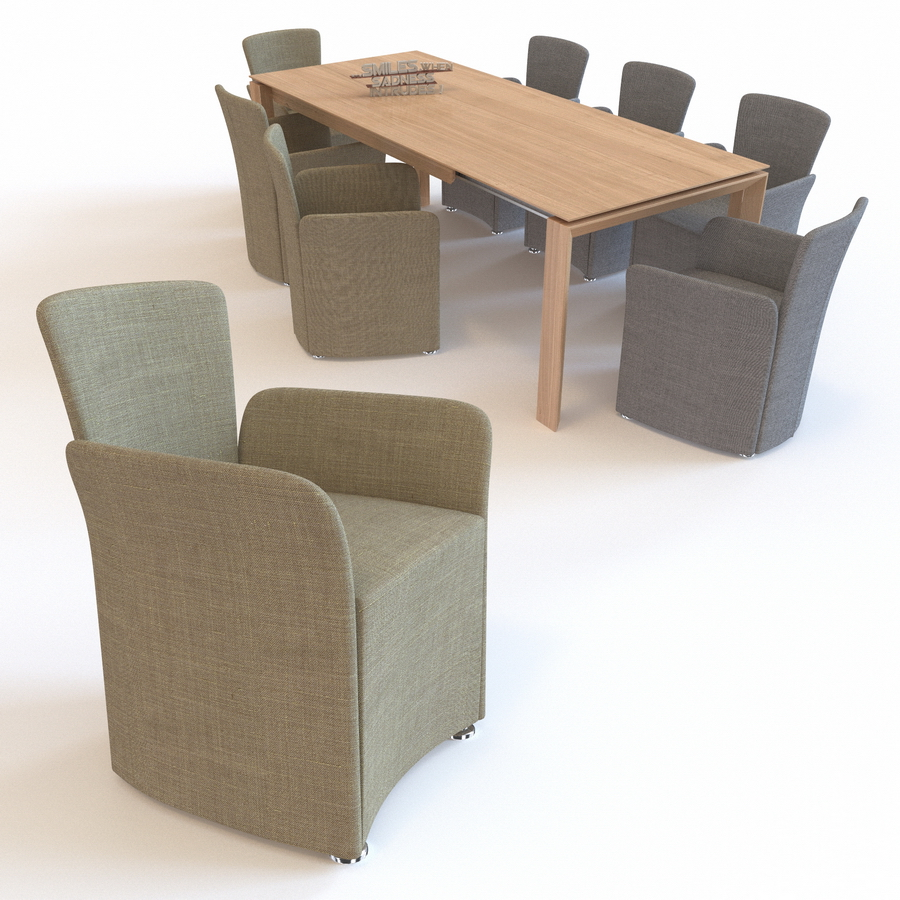 Chair NIDO amp Table OMNIA dining set CALLIGARIS Preview  : 0001LANDING20allv1 from 3docean.net size 900 x 900 jpeg 565kB