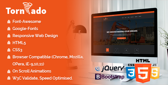 Tornado Pack - Multi Landing Pages