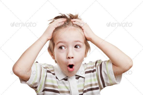 PhotoDune Amazed or surprised child boy 1741895