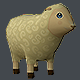 Mini Sheep Low Poly