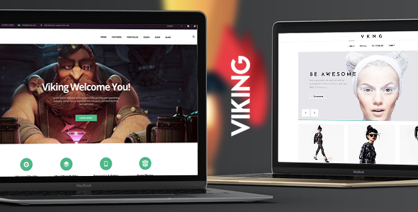 Viking | Responsive Multi-Purpose Theme