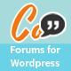 Combunity Forums: Simple  <hr/> Modern</p> <hr/> Powerful Forums for WordPress&#8221; height=&#8221;80&#8243; width=&#8221;80&#8243;> </a> </div> <div class=