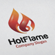 Hot Flame Logo