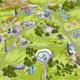 city map illustration - GraphicRiver Item for Sale
