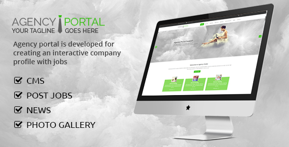 Download Agency Portal nulled download