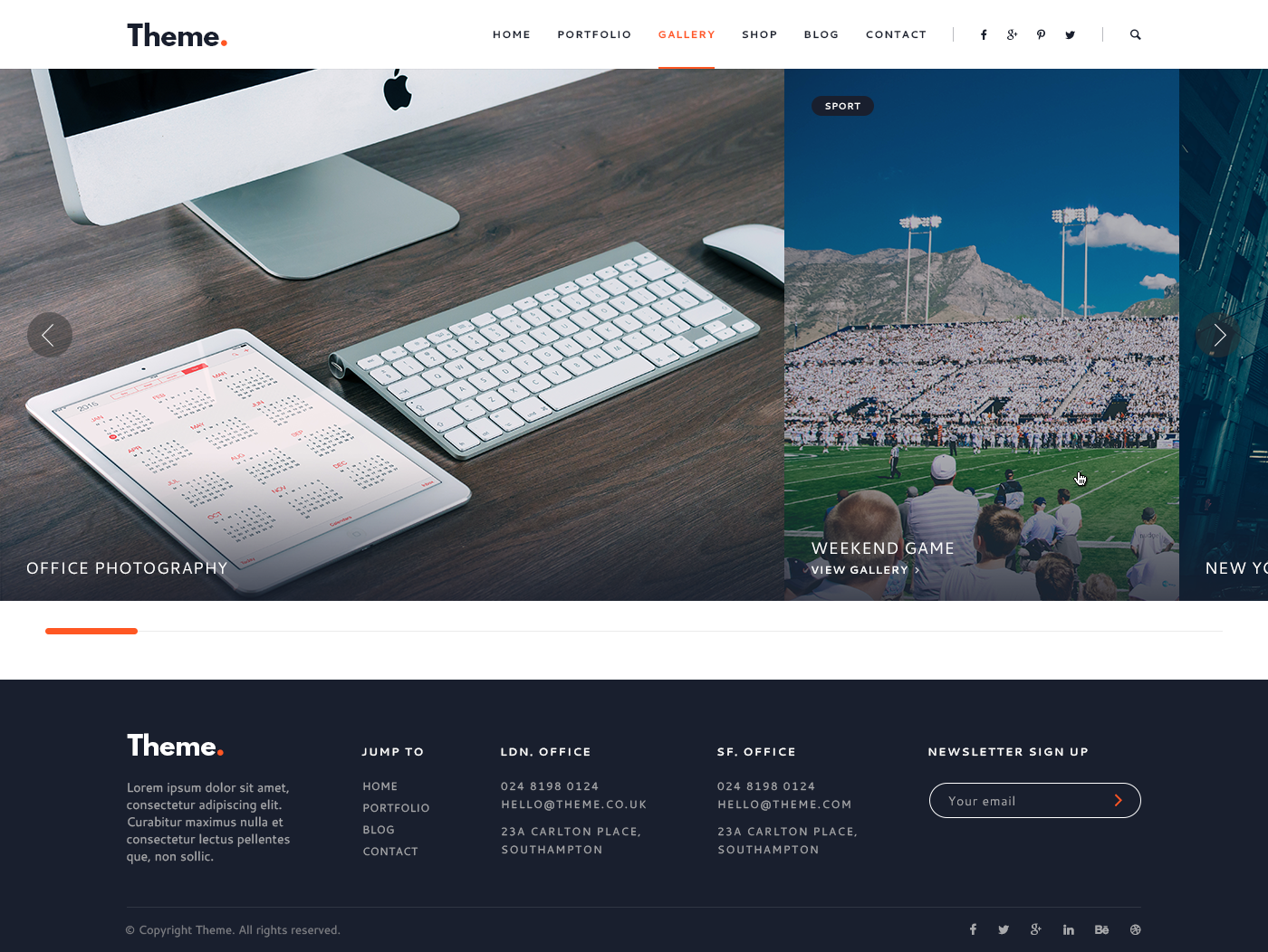 Theme Point Creative Multipurpose HTML Template by DarwinThemes – Point of Contact Template