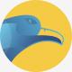 Blue Bird Logo Template