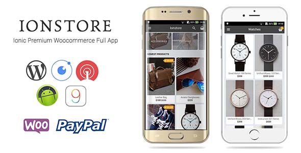 Download Ionstore - Ionic Premium WooCommerce Full Android & iOS App nulled download