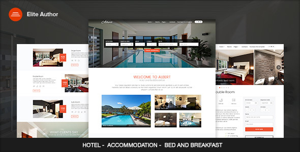 Download Albert - Hotel and Bed&Breakfast WordPress Theme nulled download