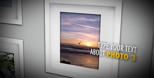 After Effects Project - VideoHive Modern Photo Album 1743531