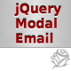 jQuery Modal Email - CodeCanyon Item for Sale