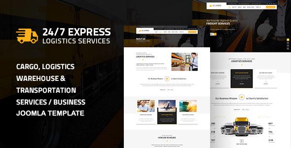 24/7 Express Logistics Services Joomla