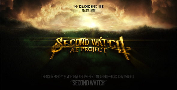After Effects Project - VideoHive Second Watch 1744107