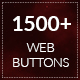1500+ Flat Design Web Buttons