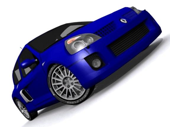 3DOcean Renault Clio Sport 1744250